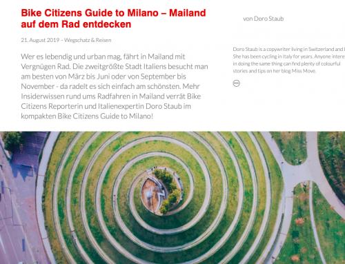 Mailand auf dem Rad entdecken