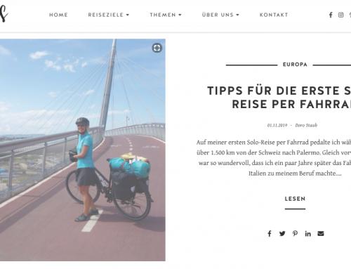 Tipps für die erste Solo-Reise per Fahrrad