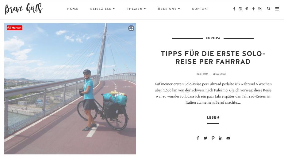 Blog-Artikel Doro Staub