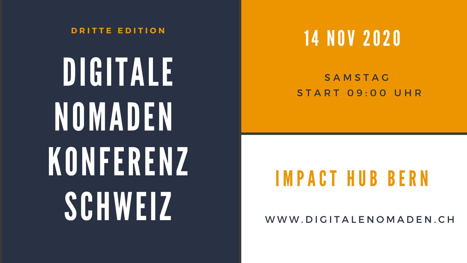 Digitale Nomaden Konferenz