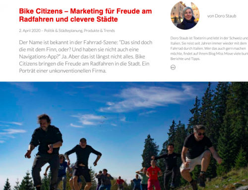 Bike Citizens – ein Firmen-Porträt