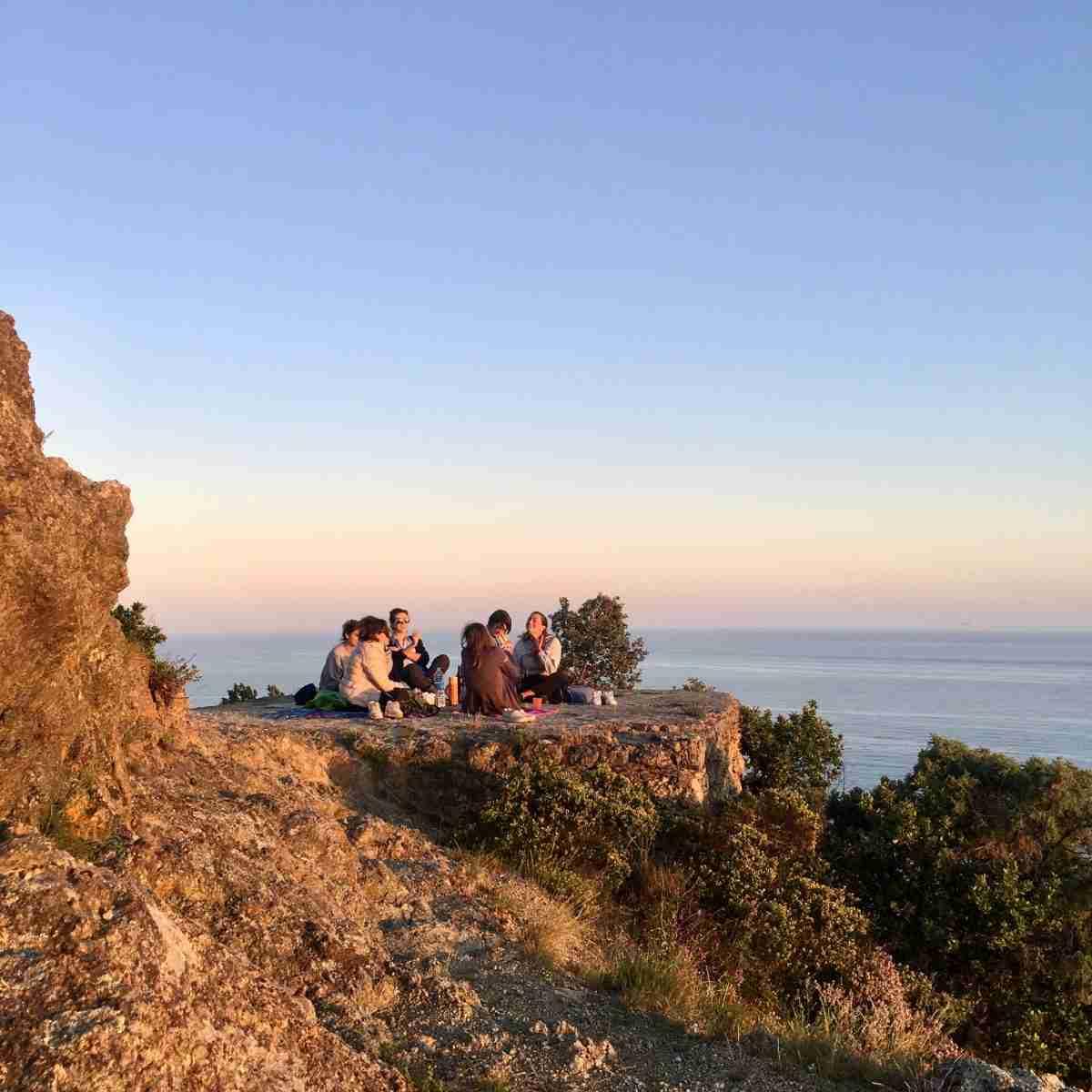 Aussichtspunkt oberhalb von Bonassola