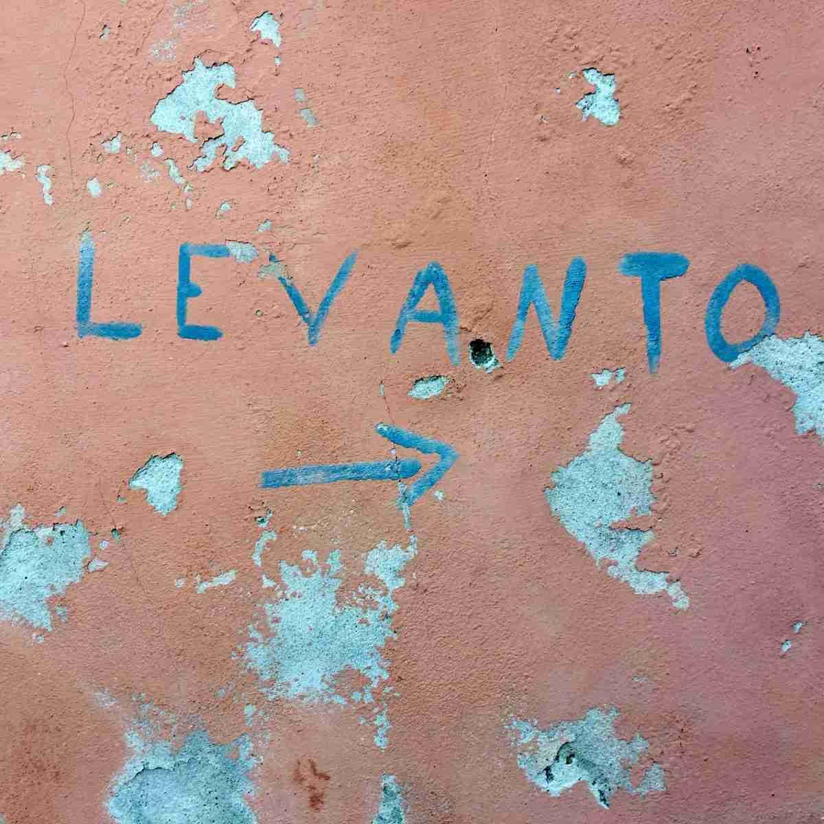 Wegweiser nach Levanto